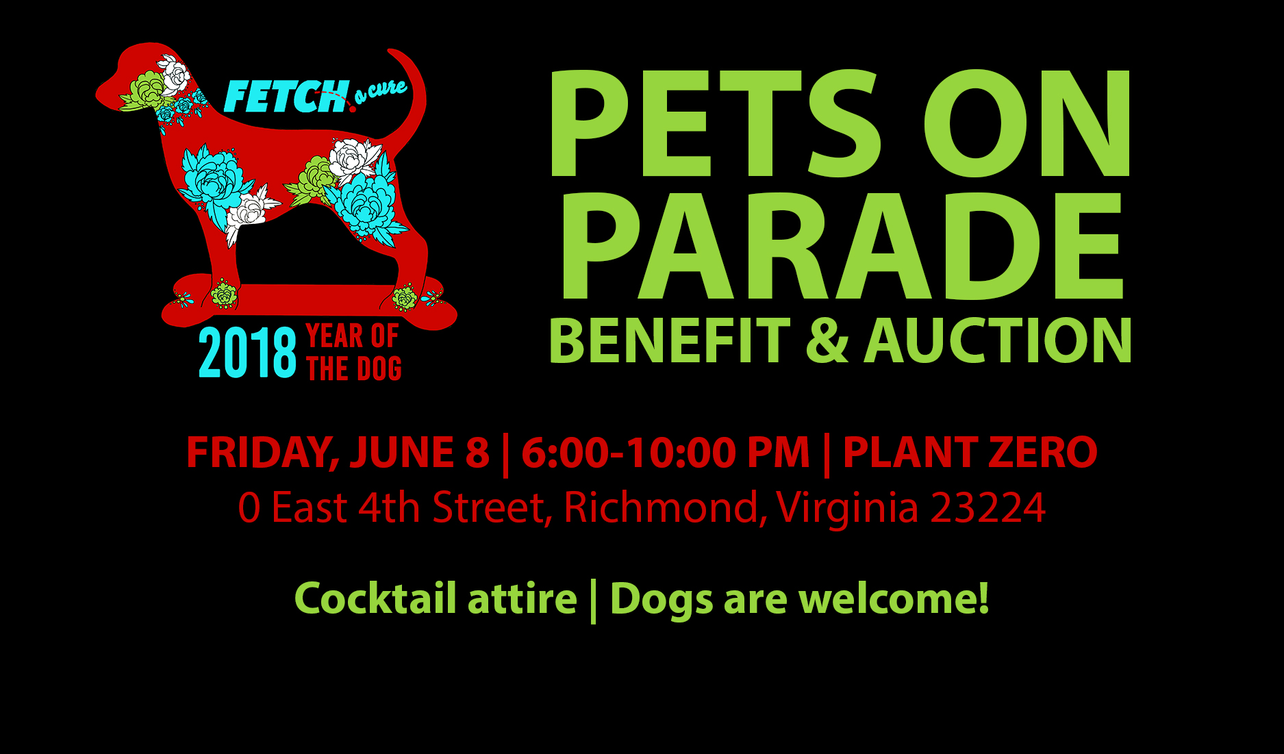11th Annual Pets on Parade Benefit & Auction