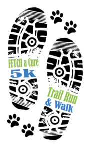 Logo for the FETCH a Cure 5K Trail Run & Walk